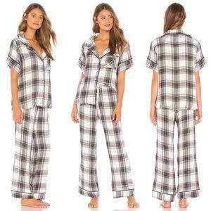 Revolve PLUSH Ultra Soft Plaid Pajama Set